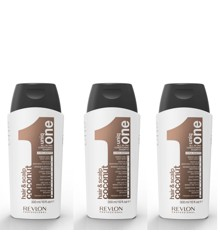 Uniq One - 3x All in One COCONUT Conditioning Shampoo 300 ml