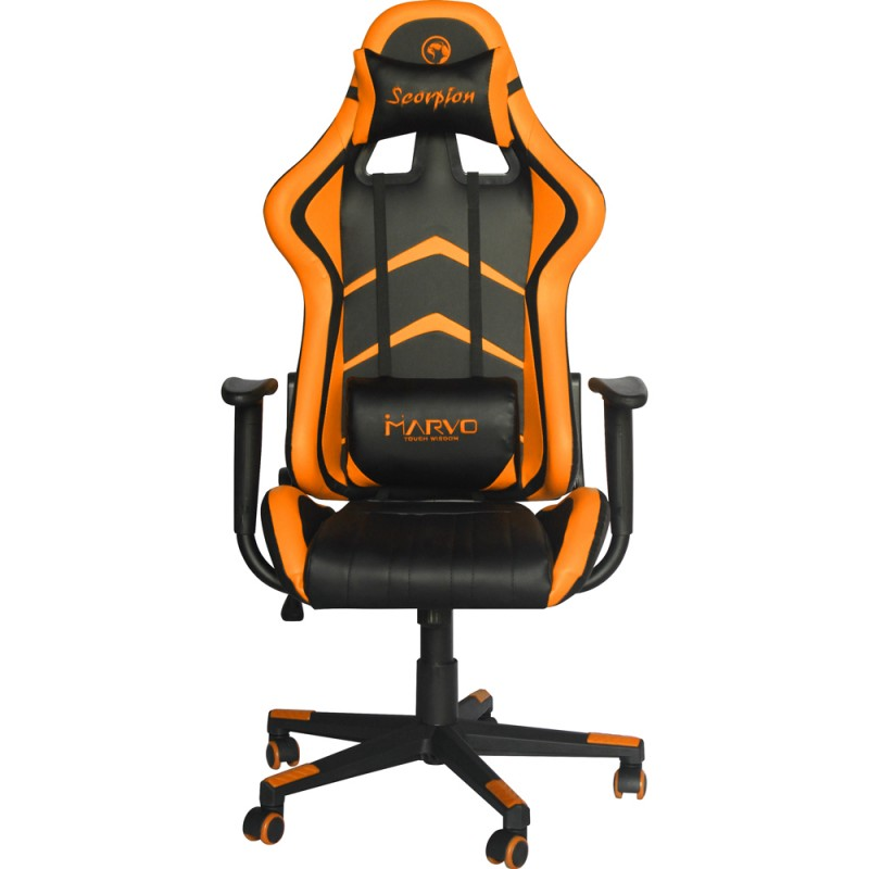 Peachy Buy Marvo Gaming Stol Ch108 Black Orange Squirreltailoven Fun Painted Chair Ideas Images Squirreltailovenorg