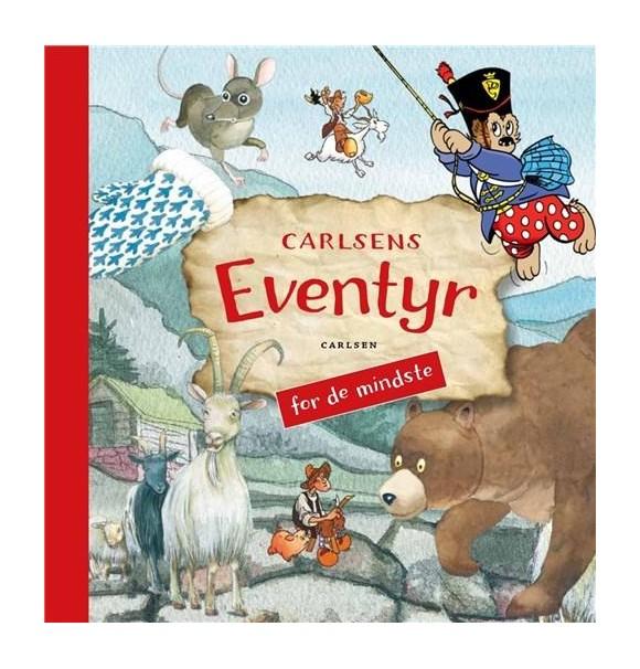 Børnebog - Carlsens eventyr for de mindste