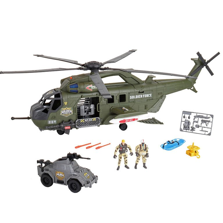 Soldier Force - Mega Helicopter Playset (545068)