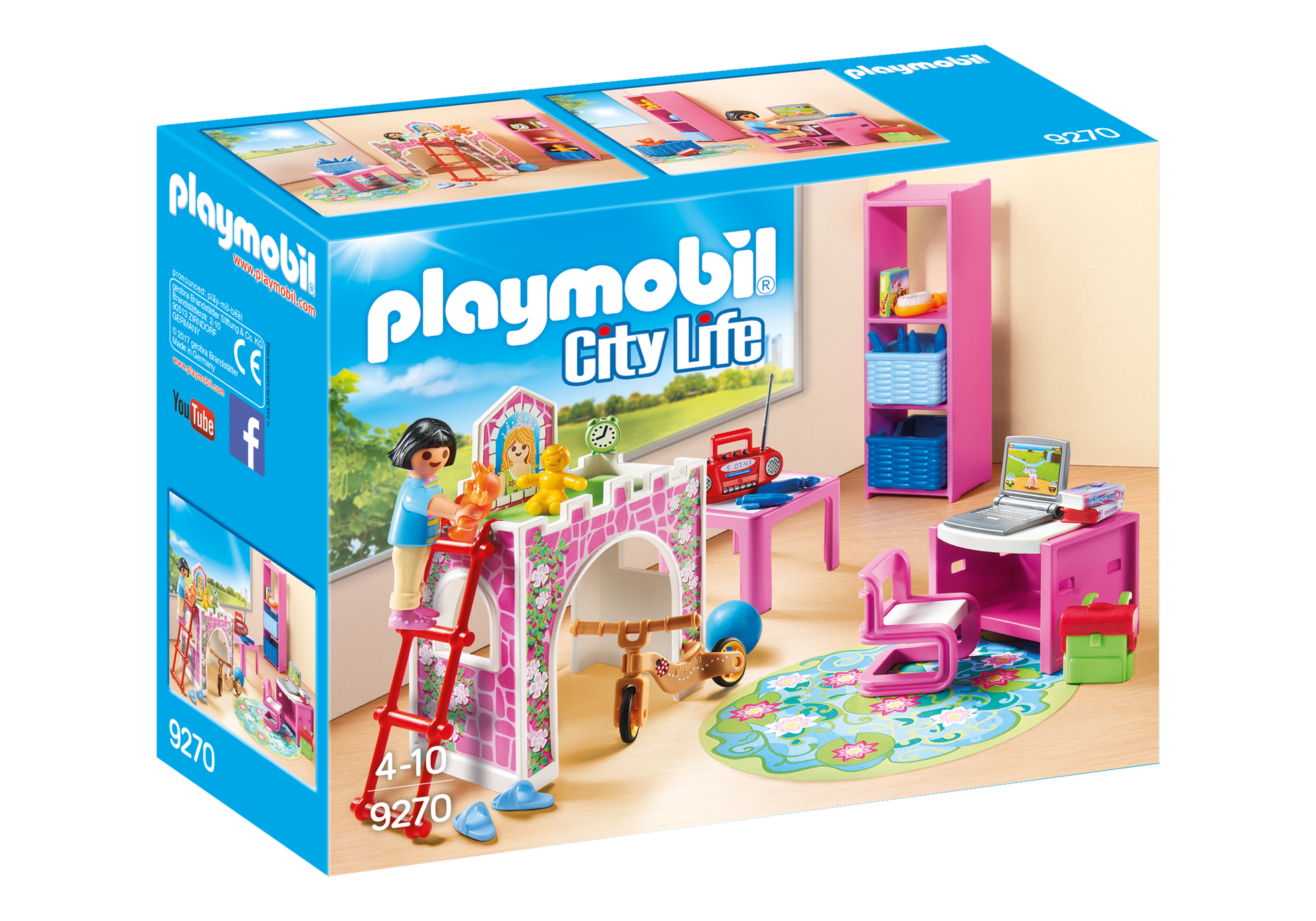 Playmobil - Children's Room (9270)