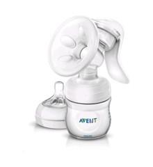 Philips Avent - Brystpumpe NATURAL - Manuel - Enkelt (SCF33020)
