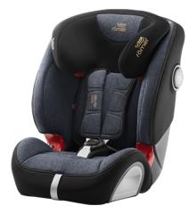 Britax Römer - Evolva 1-2-3 SL SICT Car Seat (9-36kg) - Blue Marble