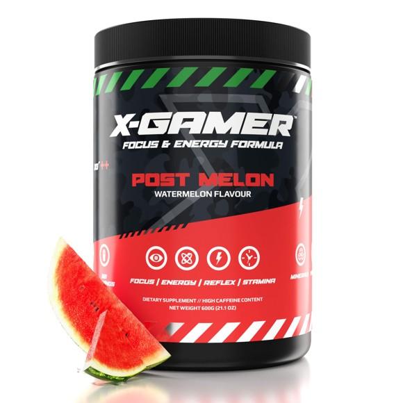 X-GAMER X-Tubz - Watermelon  -  60 Servings(600g)