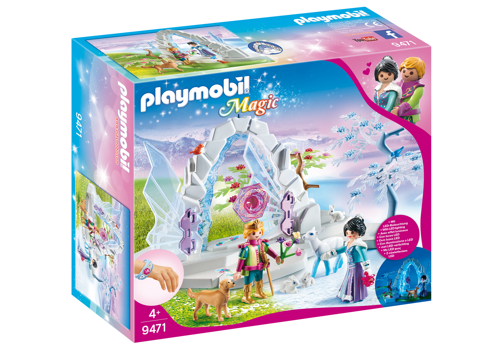 Playmobil - Crystal Gate to the Winter World (9471)