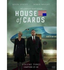 House Of Cards - Season 3 - DVD