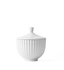 Lyngby Porcelæn - Bonbonniere Ø 10 cm - White (200888)