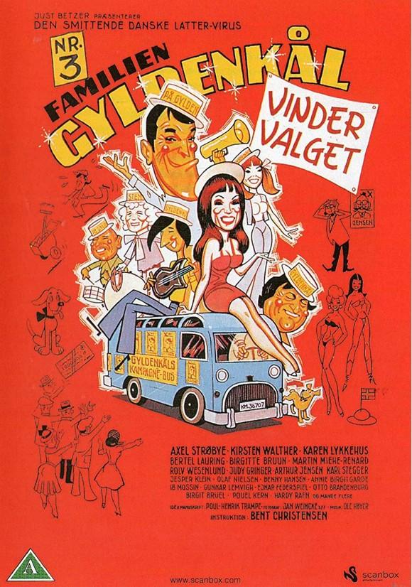 Familien Gyldenkål 3 - Vinder Valget - DVD