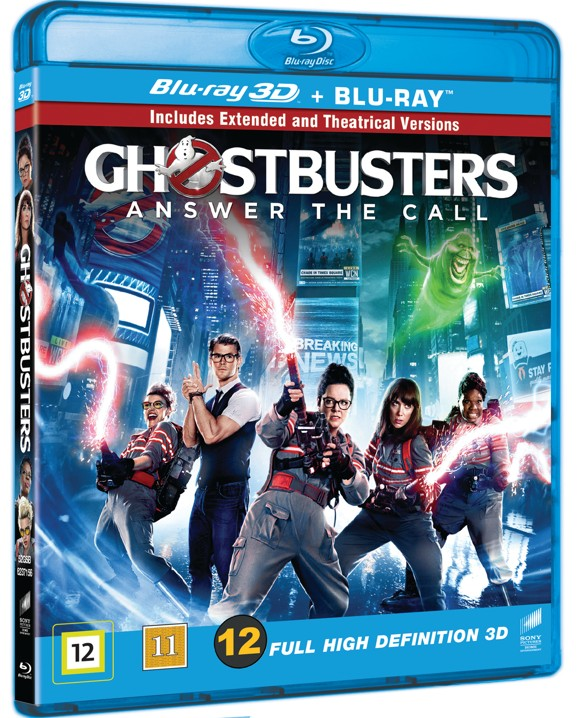 Ghostbusters - Answer The Call (3D Blu-Ray)