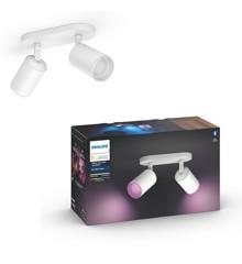 Philips Hue - Fugato 2-Spot - White & Color Ambiance - E