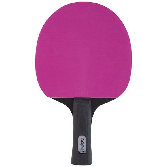 Stiga - Bordtennis - POP Colour Bat - Pink