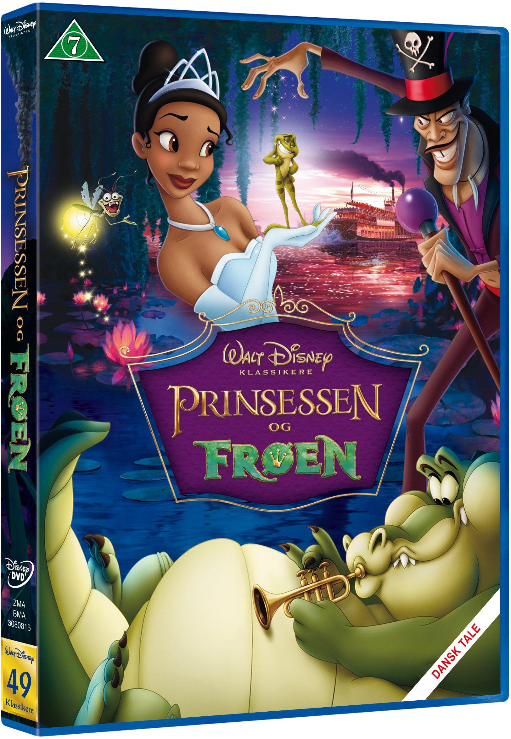 Prinsessen og frøen Disney classic #49