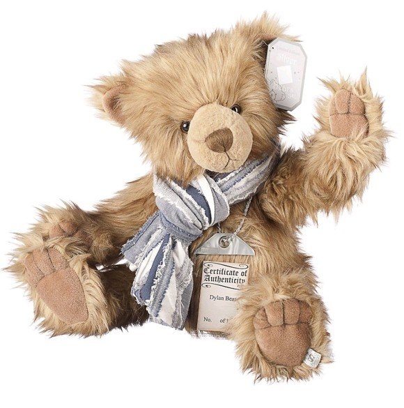 Suki - Silver Tag Teddy Bear - Dylan - Limited edition