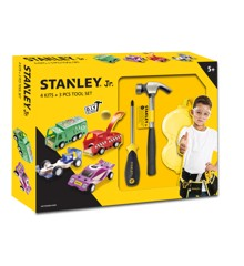 Stanley - Toolset with 4 cars (U001-K04-T03-SY)