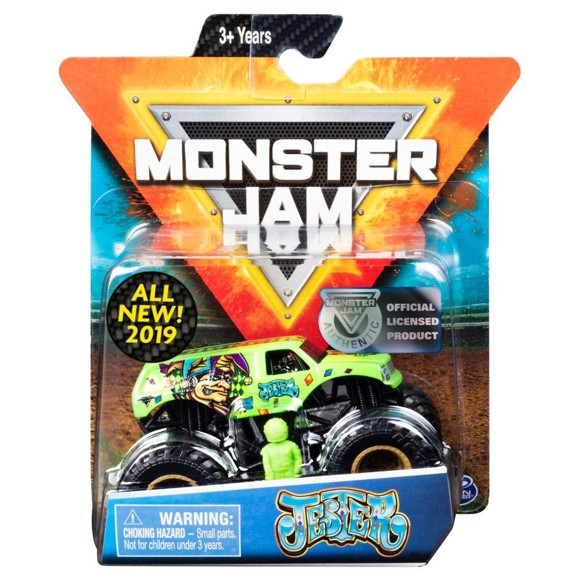 Monster Jam - 1:64 Single Pack - Jester (20105559)
