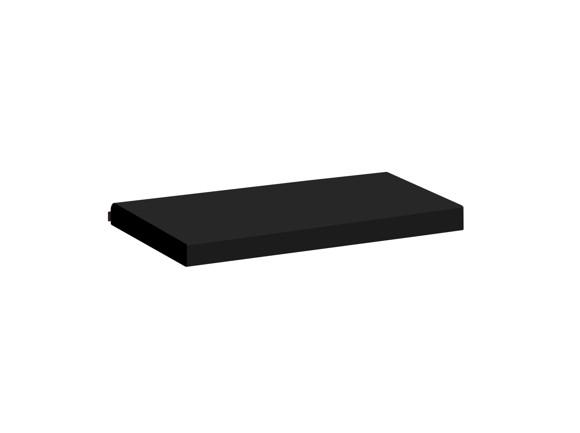 Hoppekids - Mattress Covers 9x70x160 cm - Cowboy and Skater Black