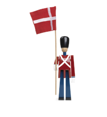 Kay Bojesen - Garder Fanebærer Lille