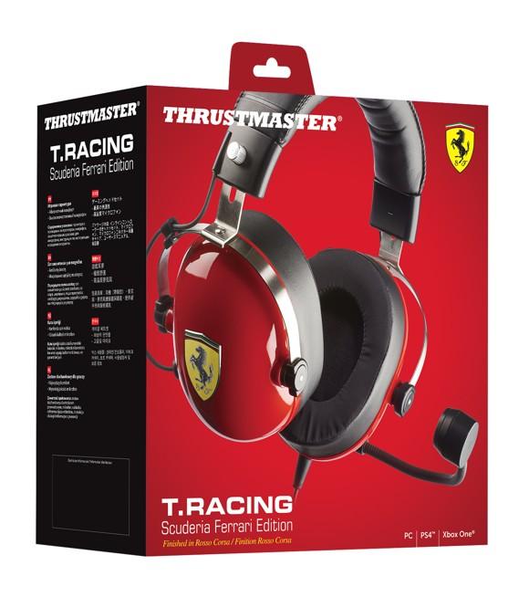T. Racing SCU. Ferrari Headset