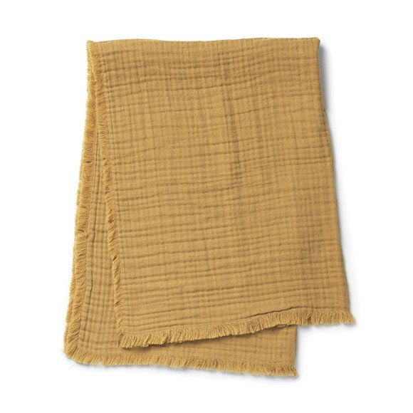 Elodie Details - Blødt Bomuldstæppe - Gold