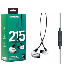 "Shure - SE215 UNI - In-Ear Hovedtelefoner ""Special Edition"" (White)"