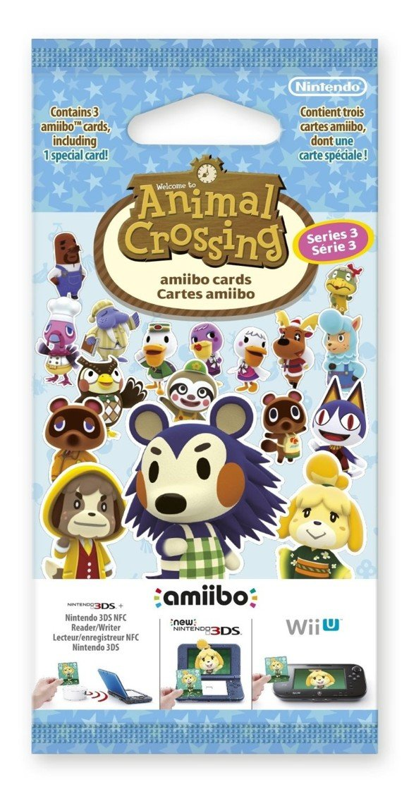 Animal Crossing: Happy Home Designer amiibo Card Pack (Series 3)