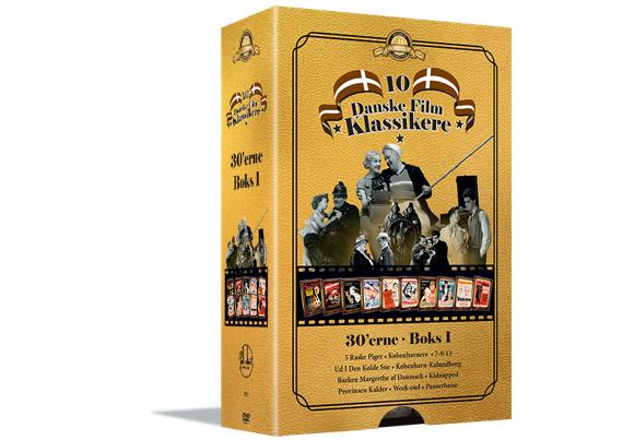 Palladium 1930`Erne  Boks 1 - DVD