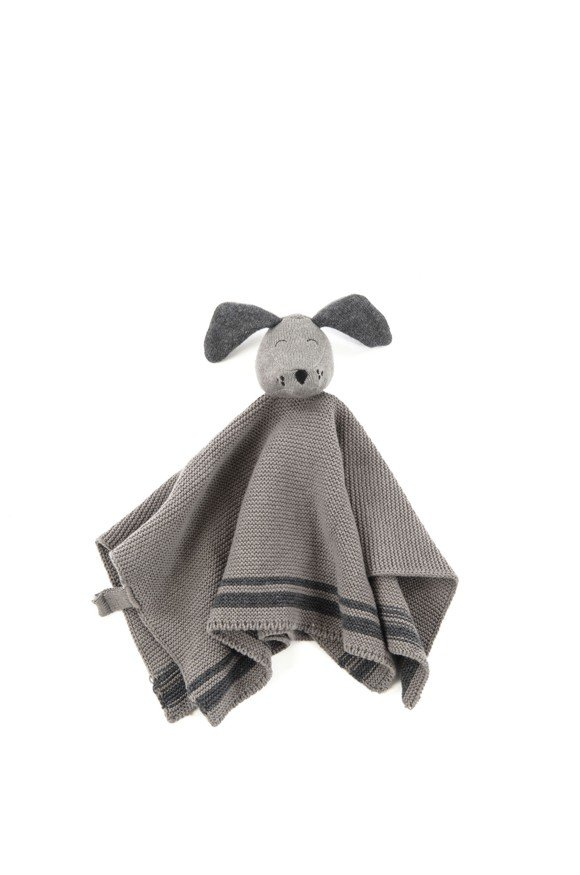 Smallstuff - Cuddling Cloth Dog - Grey