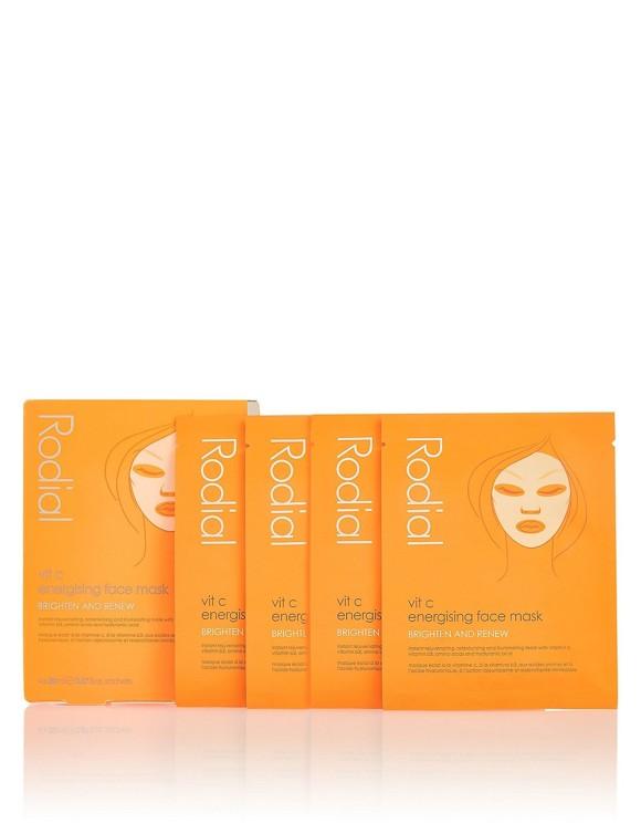 Rodial - Vit C Energising Face Mask 4 Pcs