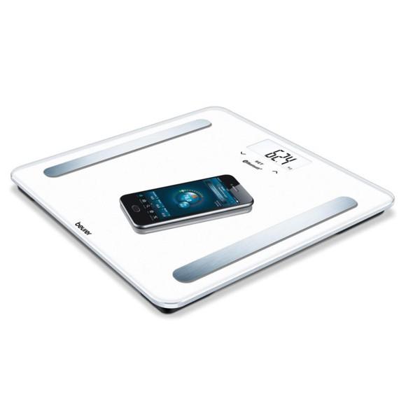 Beurer - BF 600 Diagnostic Bathroom Scale Pure White