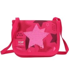 Top Model - Small Bag/Wallet w/Sequin Star - Pink (0010721)