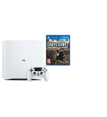 Playstation 4 Pro Console White +   Days Gone (Soft Bundle)