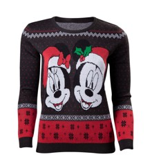 Disney Mick & Minnie Sweater L