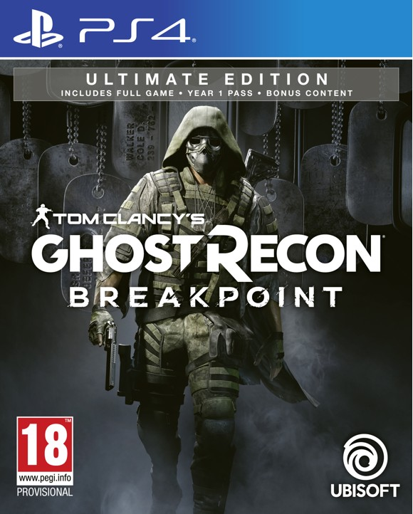 Tom Clancy's Ghost Recon: Breakpoint (Ultimate Edition) + Nomad Figurine