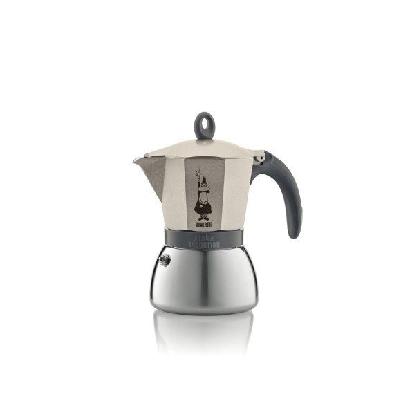 Bialetti - Moka Induction Champagne 6 Cups (4833)