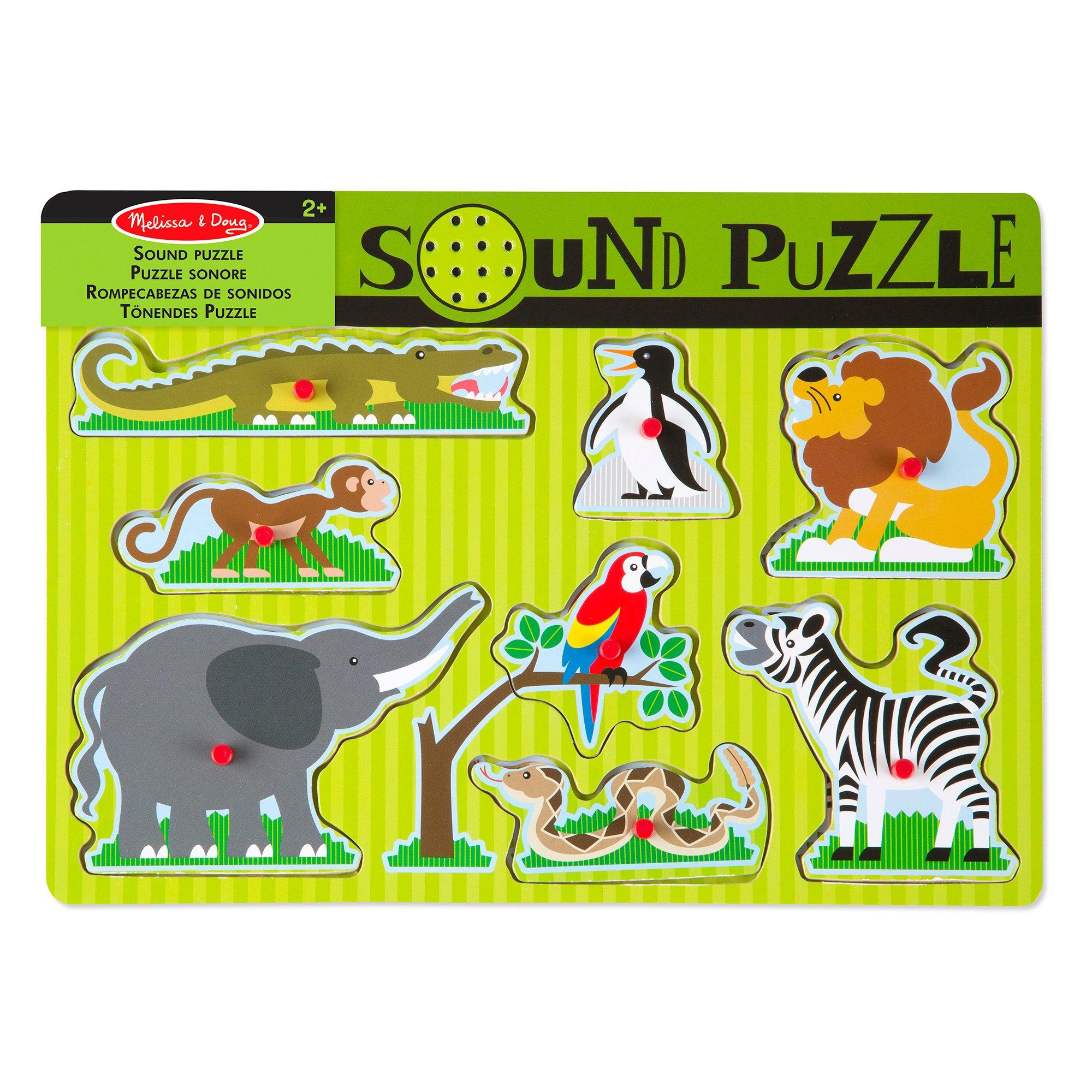 Melissa & Doug - Zoo Animals Sound Puzzle (10727)