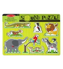 Melissa & Doug - Zoo Animals Sound Puzzle (10727)
