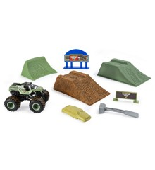 Monster Jam - Monster Dirt Deluxe Set - Soldier Fortune (20103747)