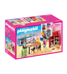Playmobil - Familie Køkken (70206)