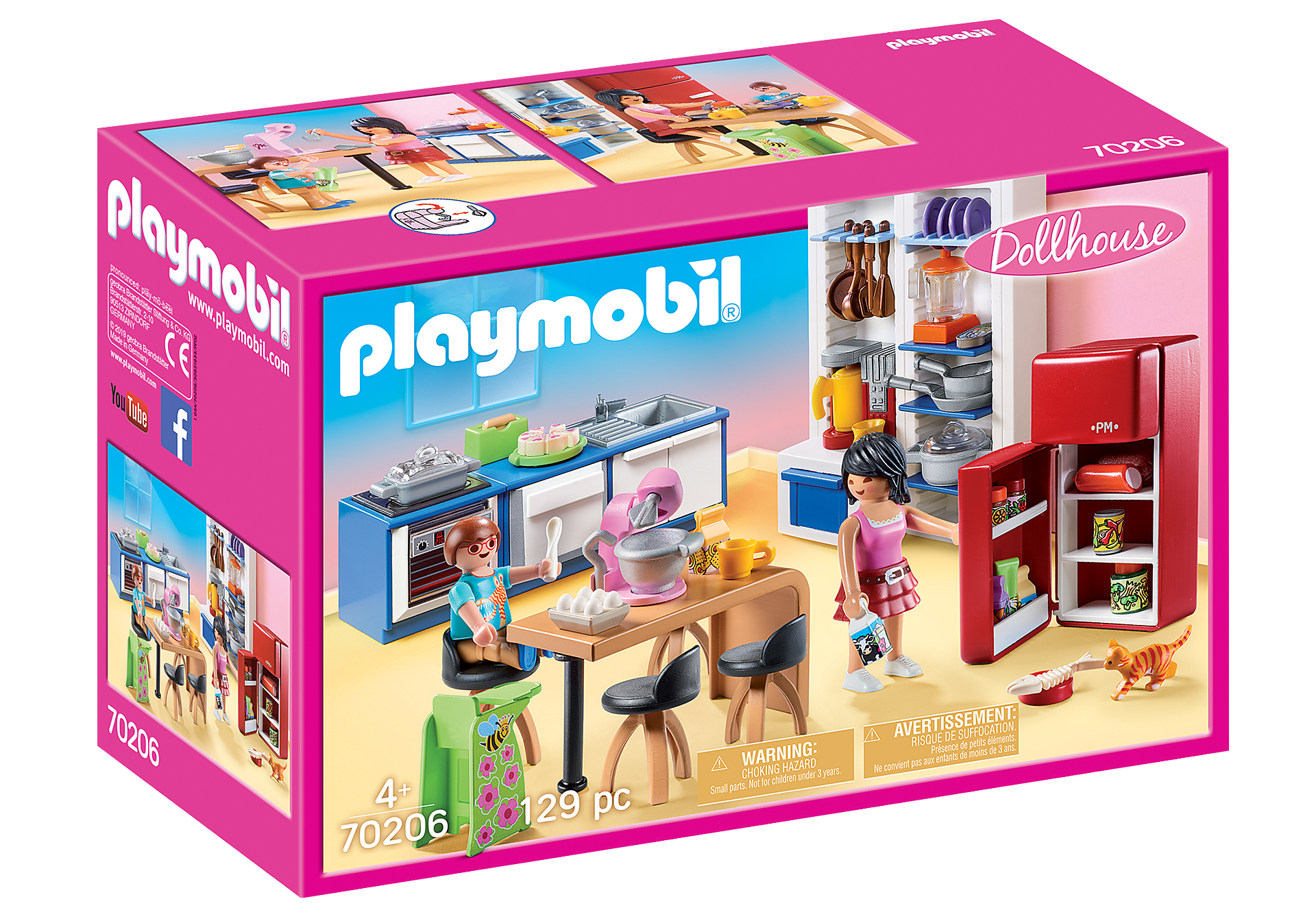 Playmobil - Family Kitchen (70206)