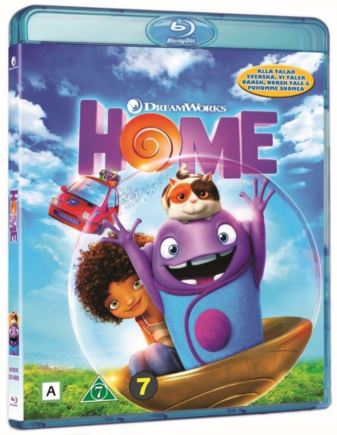 HOME (2015) (Blu-Ray)