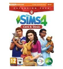 The Sims 4: Cats and Dogs (Code via Email) (PC/MAC)