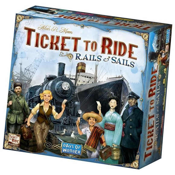 Ticket To Ride - Sails and Rails (Nordic)
