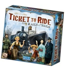 Ticket To Ride - Sails and Rails