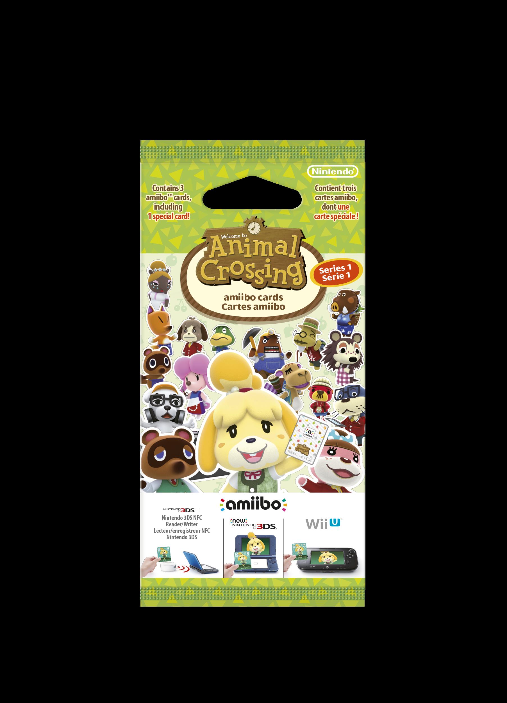 Animal Crossing Happy Home Designer amiibo Card Pack Series 20