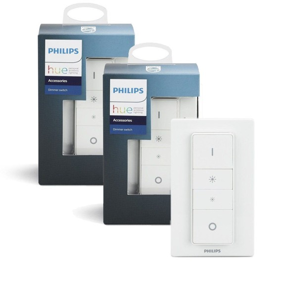 Philips Hue  - 2xTrådløs Lysdæmper Bundle