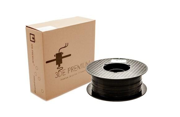 3DE Premium Filament - Pirat Black - 1.75mm