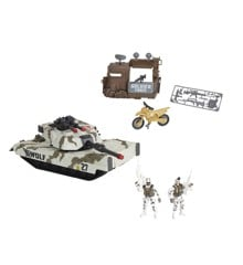 Soldier Force - Tundra Patrol Tank Legesæt