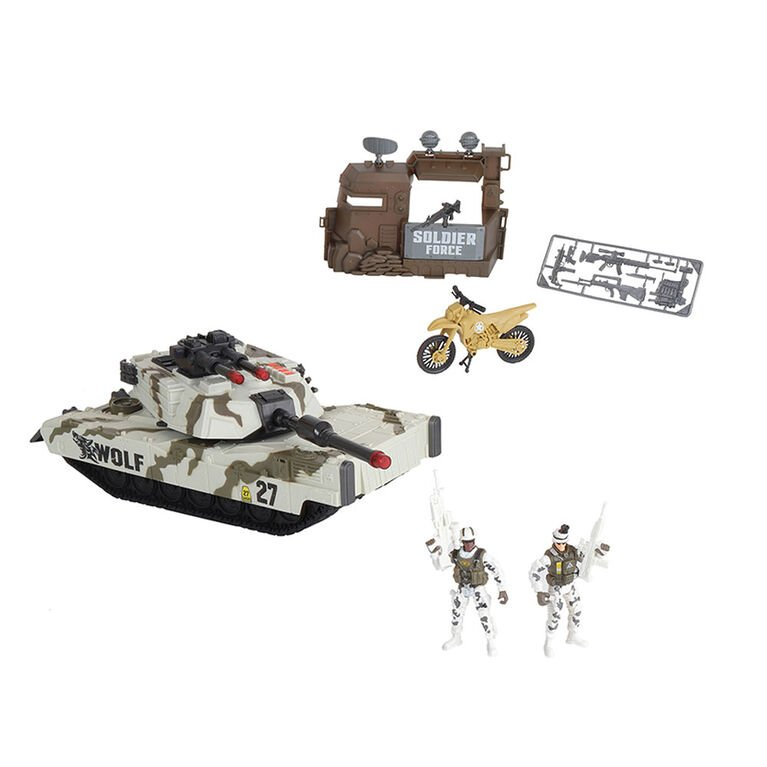 Soldier Force - Tundra Patrol Tank Playset (545062)