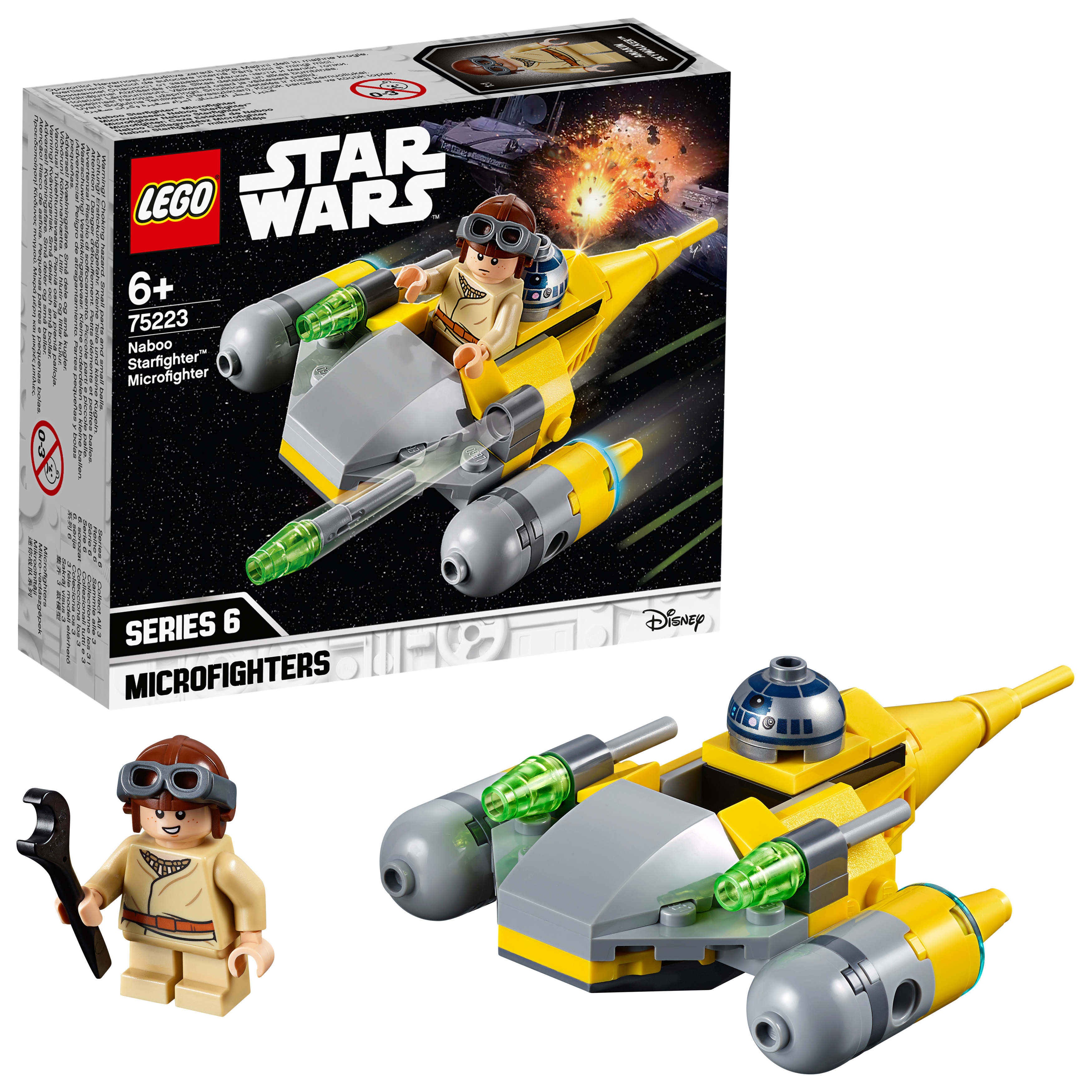 LEGO Star Wars - Naboo Starfighter Microfighter (75223)