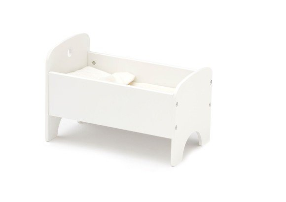 Kids Concept - STAR -  Doll Bed - White (1000433)